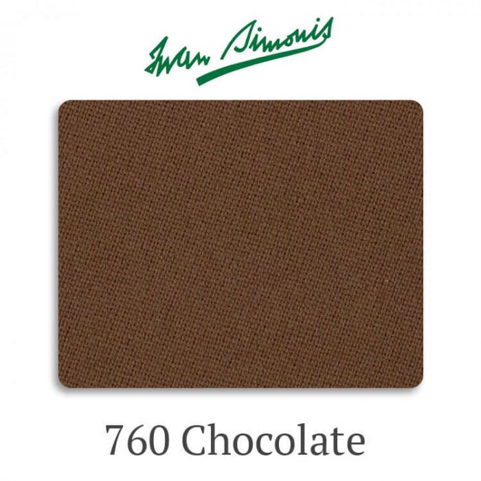 Сукно бильярдное Iwan Simonis 760 Chocolate