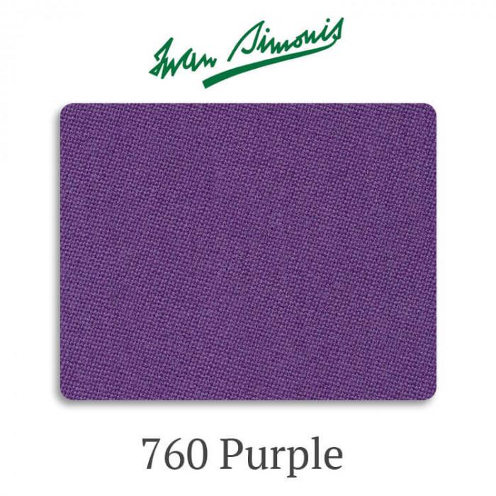 Сукно бильярдное Iwan Simonis 760 Purple