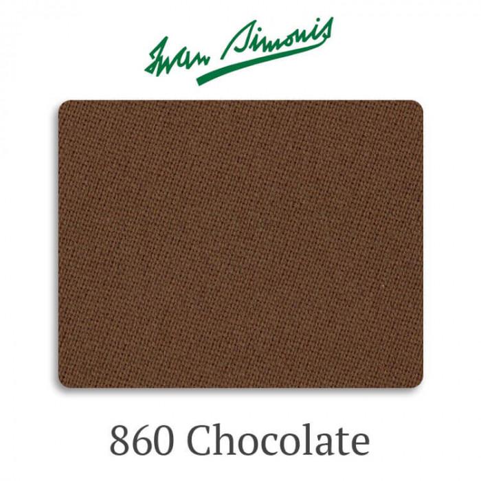 Сукно бильярдное Iwan Simonis 860 Chocolate