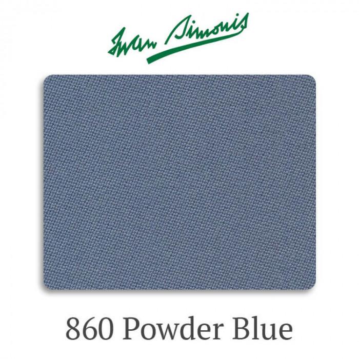 Сукно бильярдное Iwan Simonis 860 Powder Blue