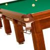 На фото Бильярдный стол для пула Спортклуб 9 футов камень 38мм дуб