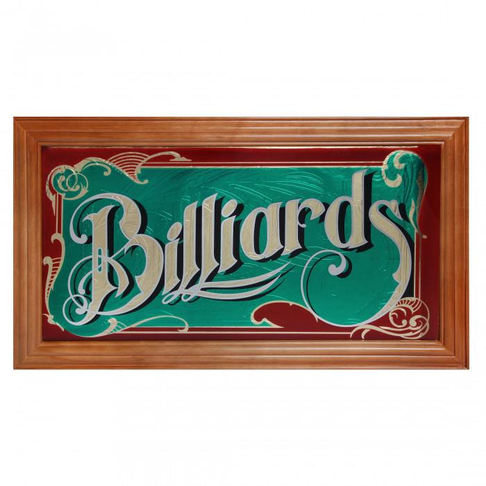 Панно зеркальное Billiards