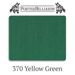 Сукно бильярдное Porter 370 Pro YellowGreen