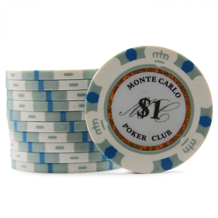 Фишки для покера Monte Carlo 1