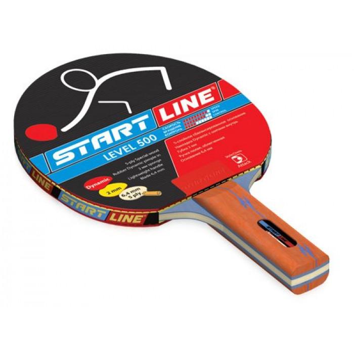 Ракетка для настольного тенниса Start Line Level 500 Прямая