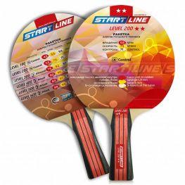 Ракетка для настольного тенниса Start Line Level 200-2* Коническая