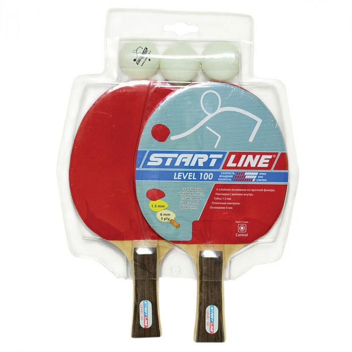 Набор для настольного тенниса Start Line Level 100 x 2