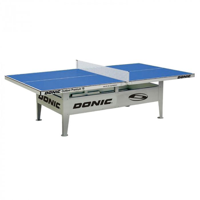 Стол теннисный Donic Premium 10 Outdoor Blue всепогодный