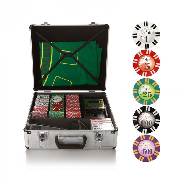 Набор для покера и блэк-джека Royal Flush