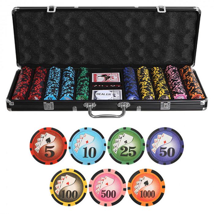 Набор для покера Royal Flush Black