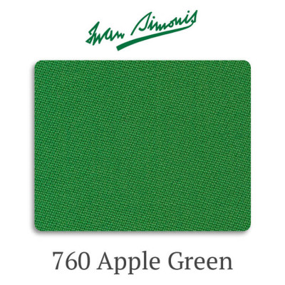 Сукно бильярдное Iwan Simonis 760 Apple Green