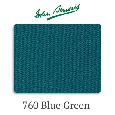 Сукно бильярдное Iwan Simonis 760 Blue Green