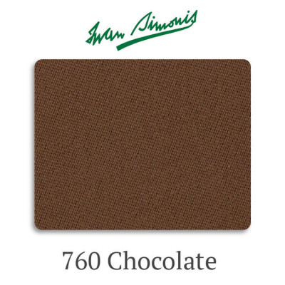 Сукно бильярдное Iwan Simonis 760 Chocolate