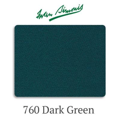 Сукно бильярдное Iwan Simonis 760 Dark Green