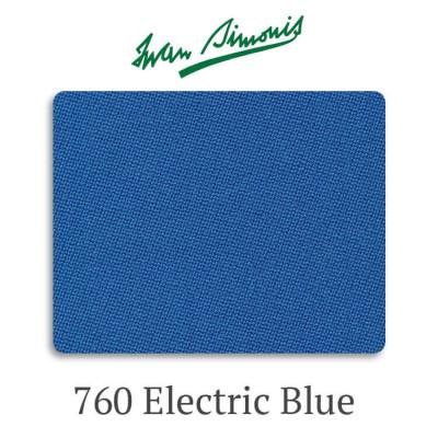 Сукно бильярдное Iwan Simonis 760 Electric Blue
