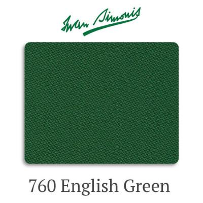 Сукно бильярдное Iwan Simonis 760 English Green