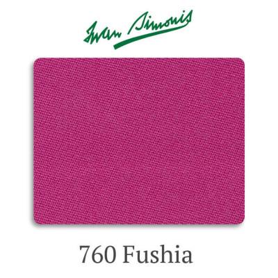 Сукно бильярдное Iwan Simonis 760 Fushia