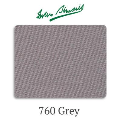 Сукно бильярдное Iwan Simonis 760 Grey