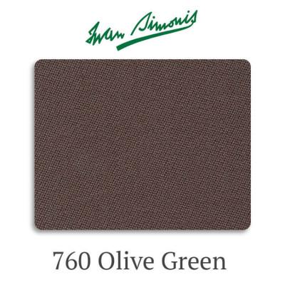 Сукно бильярдное Iwan Simonis 760 Olive Green