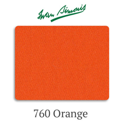Сукно бильярдное Iwan Simonis 760 Orange