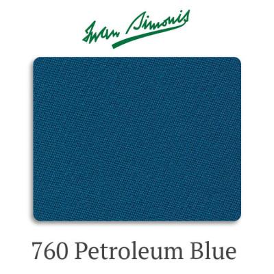Сукно бильярдное Iwan Simonis 760 Petroleum Blue