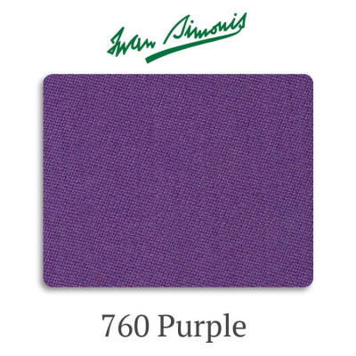 Сукно бильярдное Iwan Simonis 760 Purple