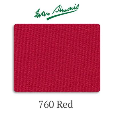 Сукно бильярдное Iwan Simonis 760 Red