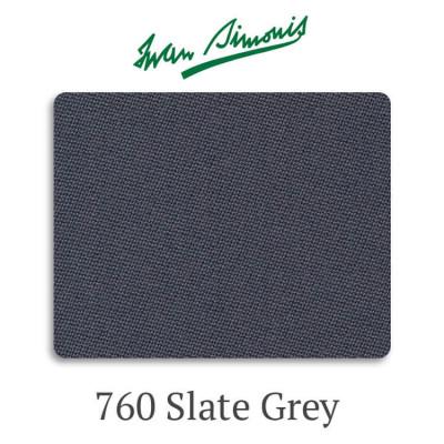 Сукно бильярдное Iwan Simonis 760 Slate Grey