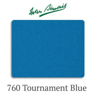 Сукно бильярдное Iwan Simonis 760 Tournament Blue
