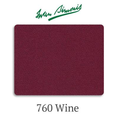 Сукно бильярдное Iwan Simonis 760 Wine