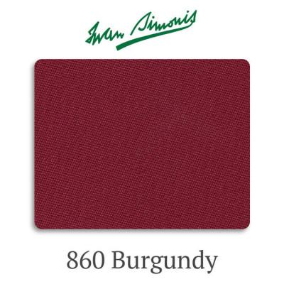 Сукно бильярдное Iwan Simonis 860 Burgundy