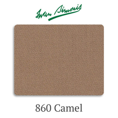 Сукно бильярдное Iwan Simonis 860 Camel