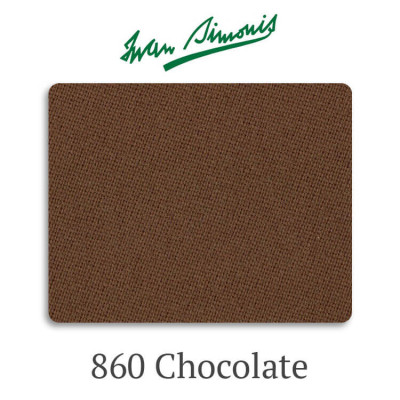 Сукно бильярдное Iwan Simonis 860 Chocolate