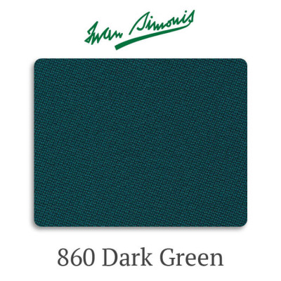 Сукно бильярдное Iwan Simonis 860 Dark Green