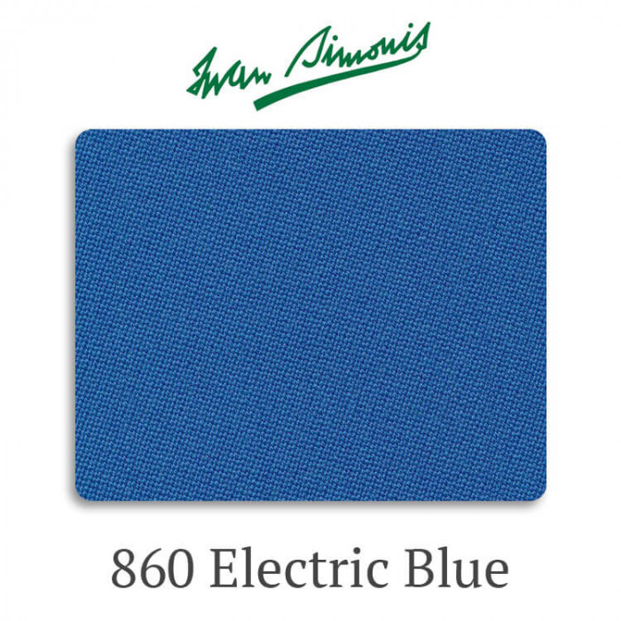 Сукно бильярдное Iwan Simonis 860 Electric Blue