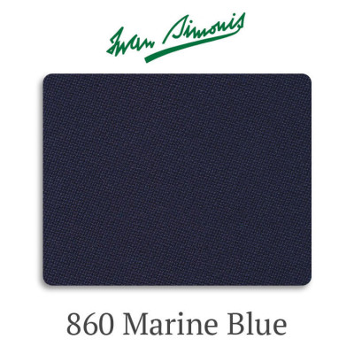 Сукно бильярдное Iwan Simonis 860 Marine Blue