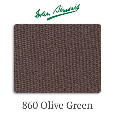 Сукно бильярдное Iwan Simonis 860 Olive Green