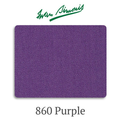 Сукно бильярдное Iwan Simonis 860 Purple
