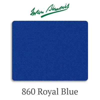 Сукно бильярдное Iwan Simonis 860 Royal Blue