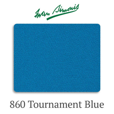 Сукно бильярдное Iwan Simonis 860 Tournament Blue