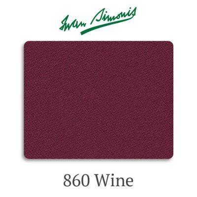 Сукно бильярдное Iwan Simonis 860 Wine