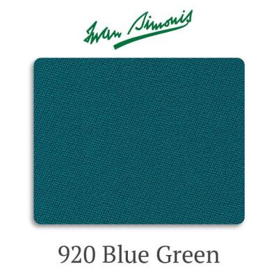 Сукно бильярдное Iwan Simonis 920 Blue Green