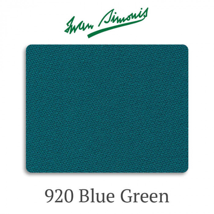 Сукно бильярдное Iwan Simonis 920 Blue Green