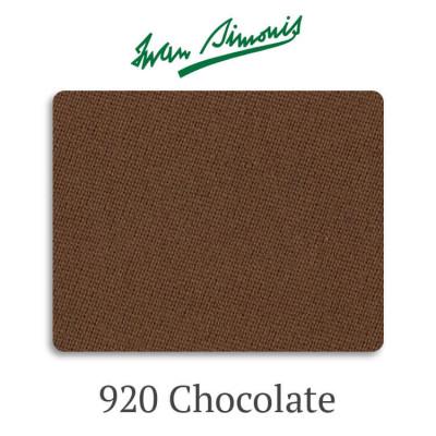 Сукно бильярдное Iwan Simonis 920 Chocolate