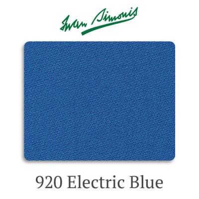 Сукно бильярдное Iwan Simonis 920 Electric Blue