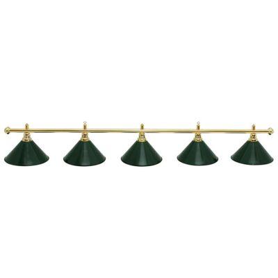 Светильник бильярдный Evergreen Luxe 5 плафонов