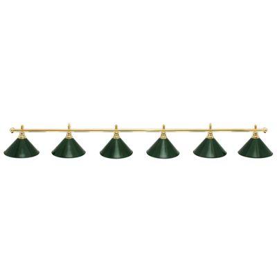 Светильник бильярдный Evergreen 6 плафонов