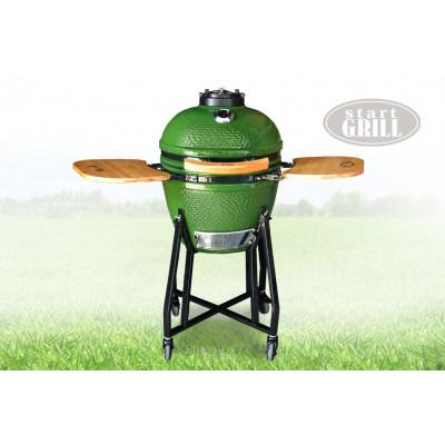 Гриль-барбекю керамический Start SKL18 Green 48см