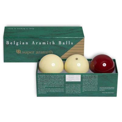 Шары бильярдные Aramith Super Traditionnel Carom для карамболя 61,5мм 3 шара
