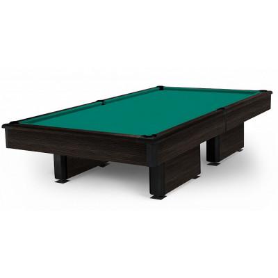Бильярдный стол для пула High-tech 9 футов камень 40мм тиковое дерево/черный глянец